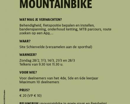Initiatie mountainbike voor kinderen