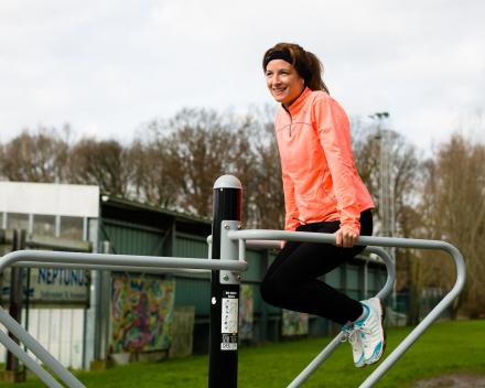 Mobiele fitnesstoestellen
