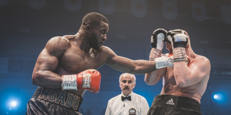 Fotoreportage Boxing Fight Night 2019