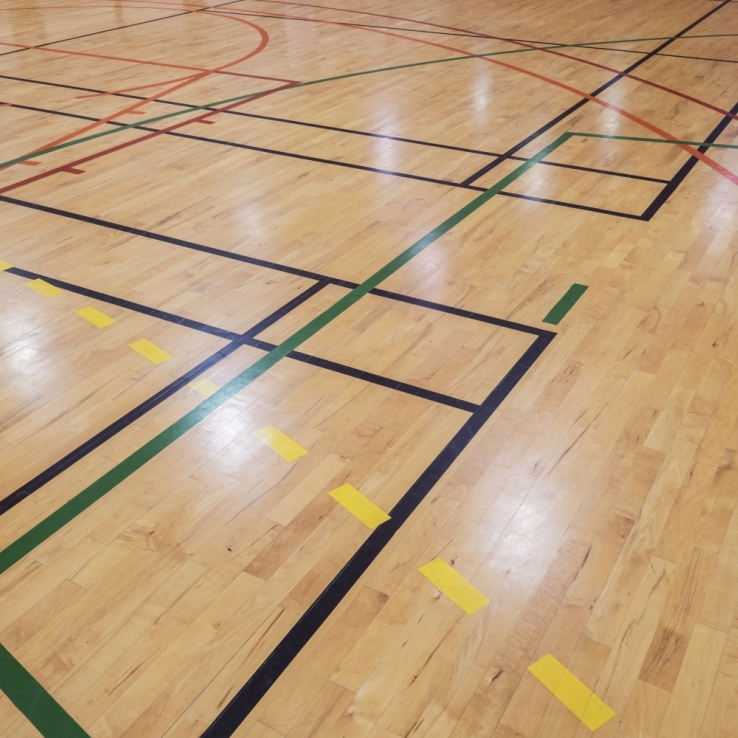 Sporthallen en zalen